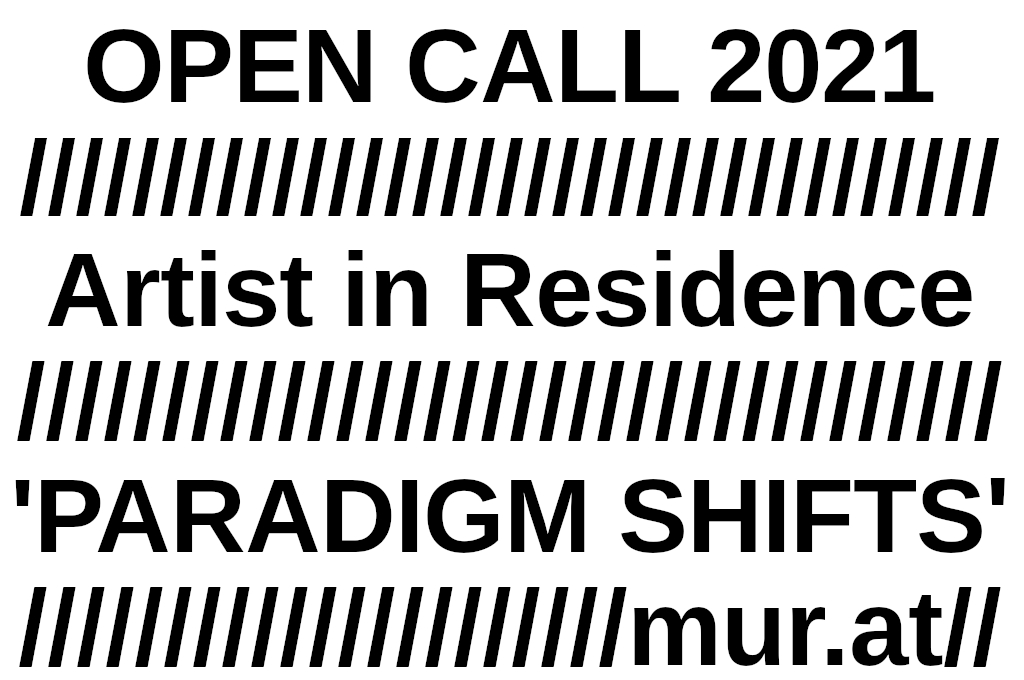 Open Call 2021 Artist in Residence Program